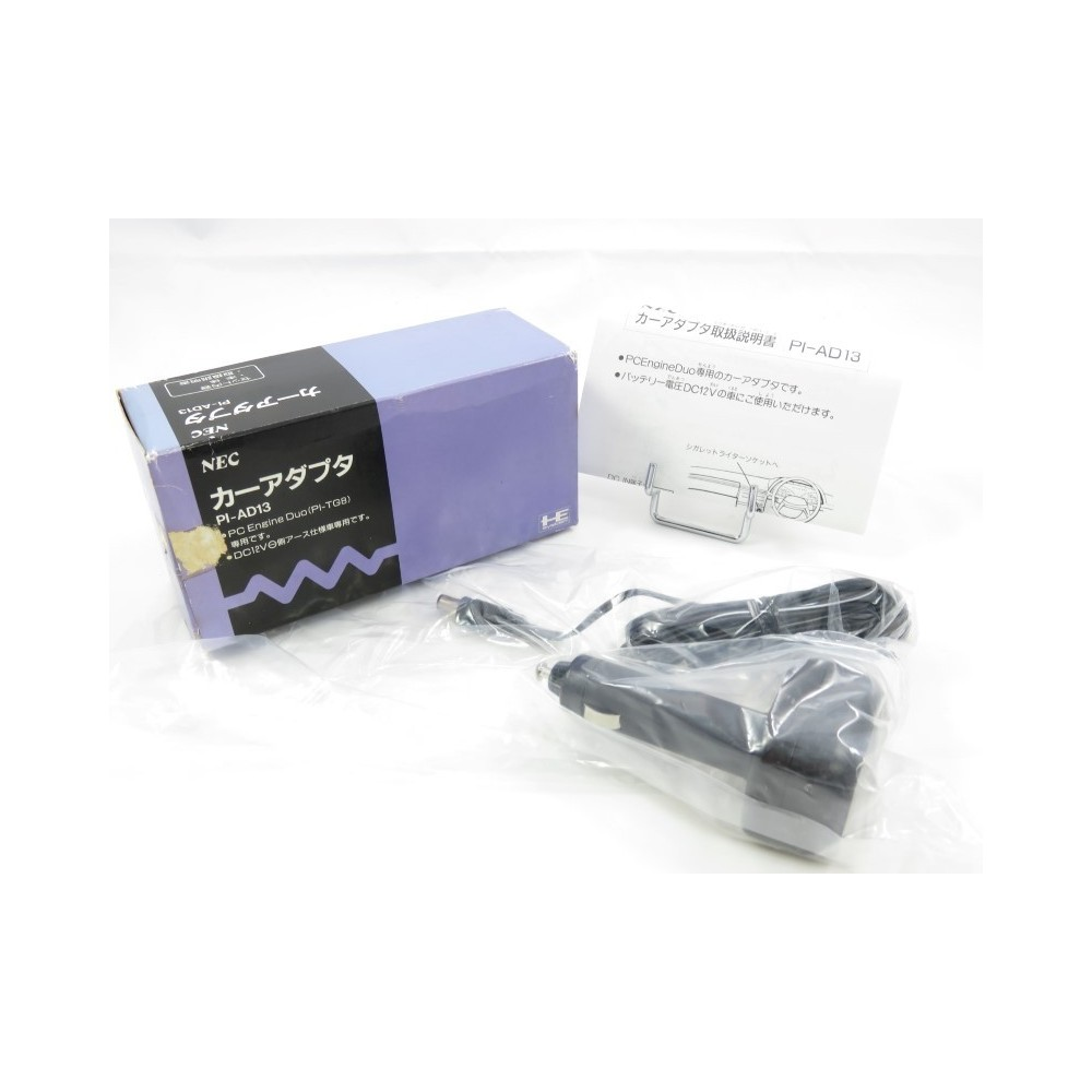 CAR ADAPTER PC ENGINE DUO PI-AD13 JPN OCCASION