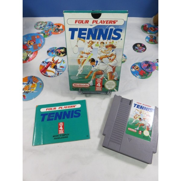 FOUR PLAYERS TENNIS NES PAL-B FAH OCCASION