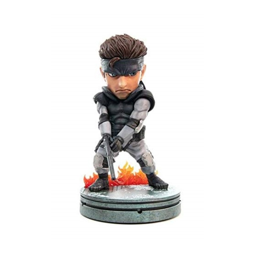 FIGURINE METAL GEAR SOLID SOLID SNAKE SD FIRST4FIGURES EURO NEW