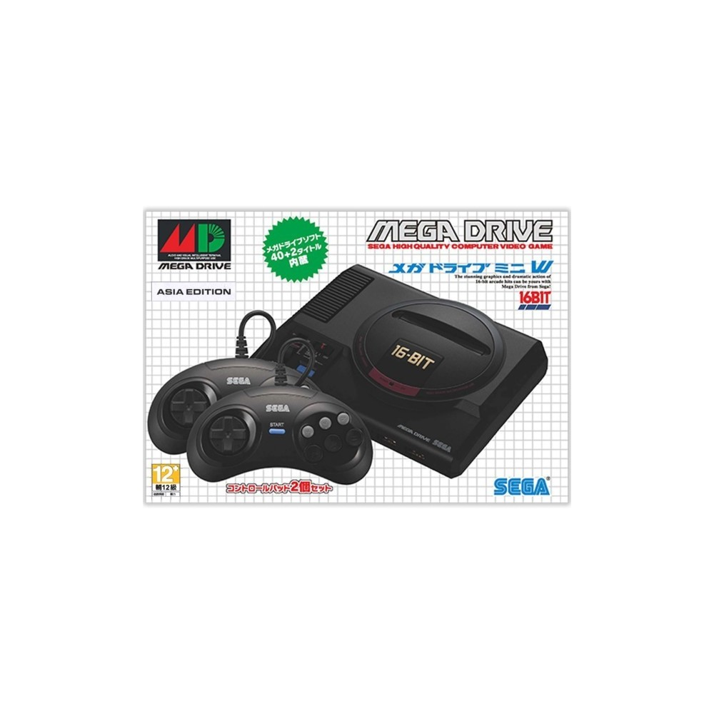 CONSOLE MEGADRIVE MINI W ASIAN NEW