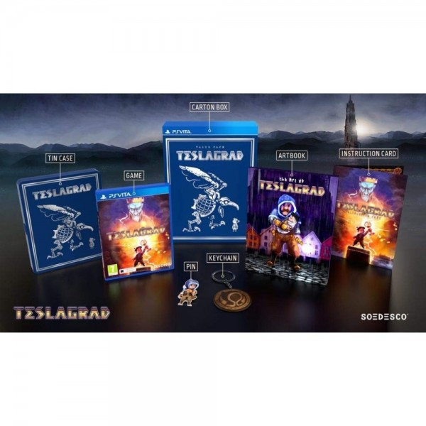 TESLAGRAD VALUE PACK PSVITA EURO NEW