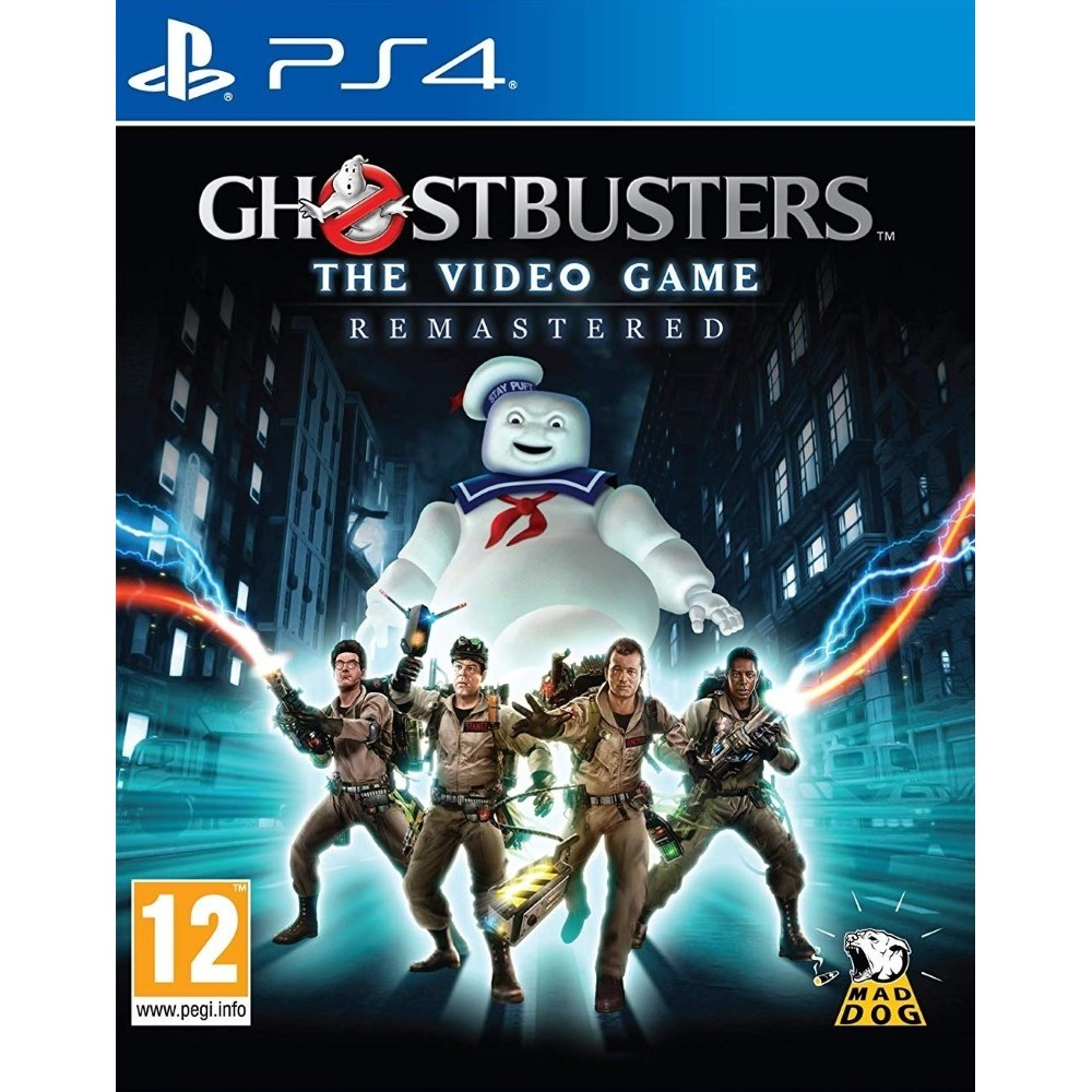 GHOSTBUSTERS REMASTERED PS4 UK NEW