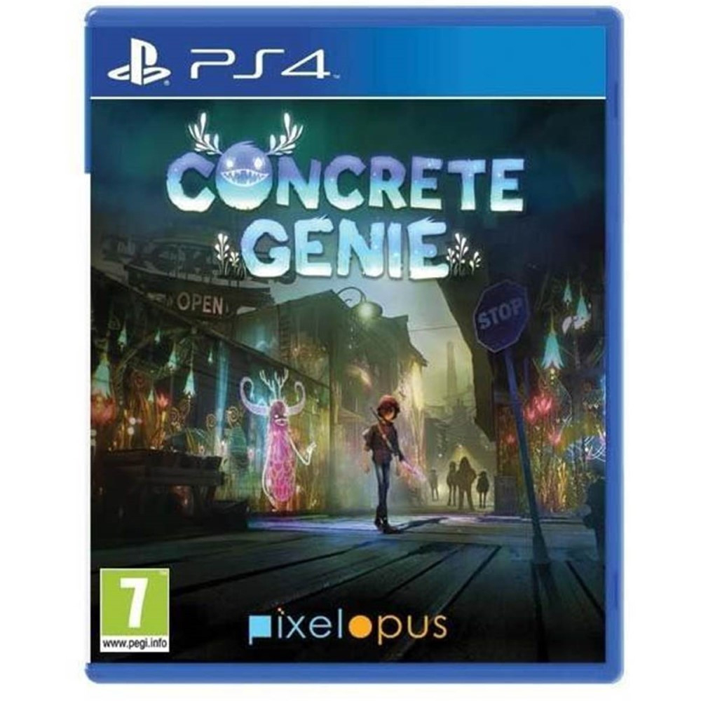 CONCRETE GENIE PSVR PS4 EURO FR NEW