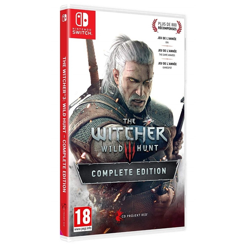 THE WITCHER 3 THE WILD HUNT COMPLETE EDITION SWITCH FR NEW