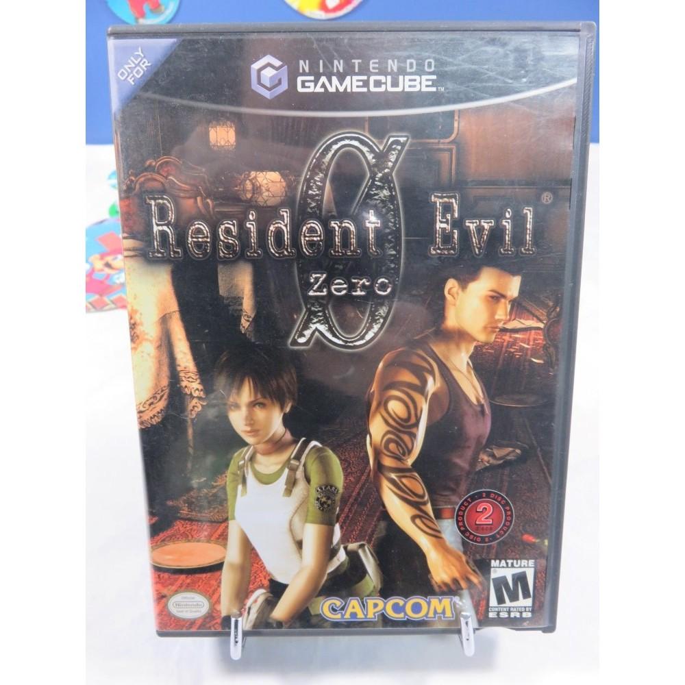 RESIDENT EVIL ZERO GAMECUBE NTSC-USA OCCASION
