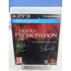 DEADLY PREMONITION THE DIRECTOR S CUT PS3 FR OCCASION