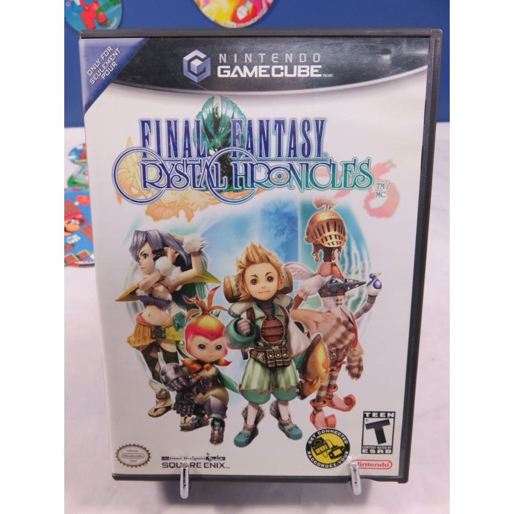 FINAL FANTASY CRYSTAL CHRONICLES NTSC-USA-CAN OCCASION
