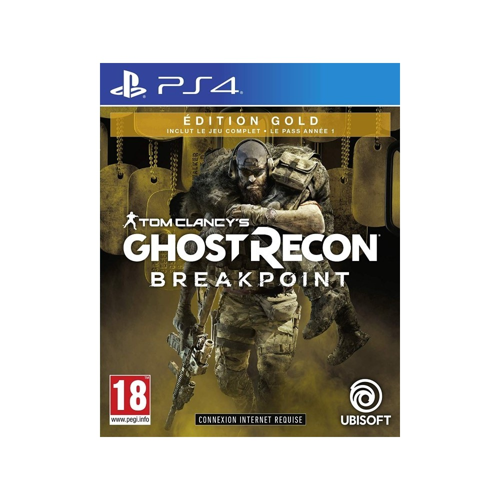 GHOST RECON BREACKPOINT EDITION GOLD PS4 FR NEW
