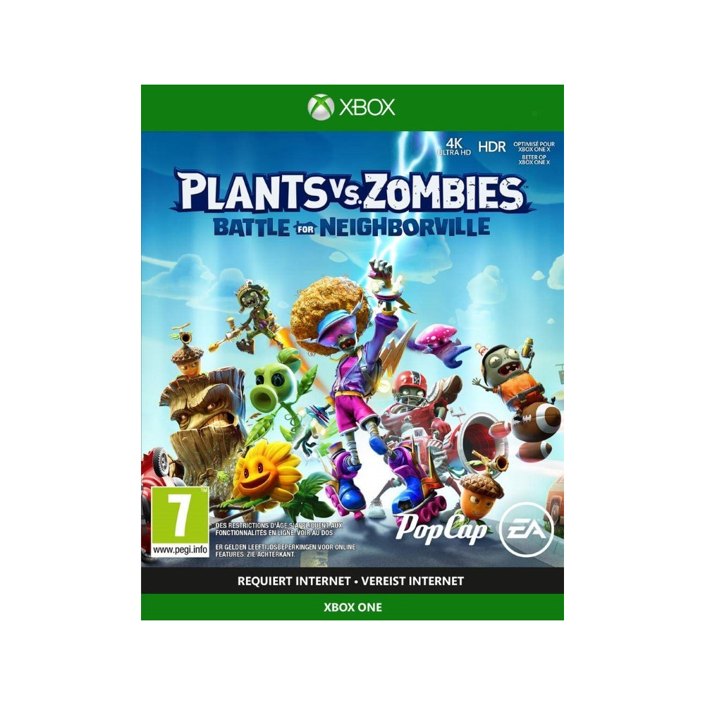 PLANTS VS ZOMBIES BATTLE FOR NEIGHBORVILLE XBOX ONE FR NEW