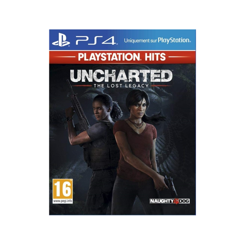 UNCHARTED THE LOST LEGACY PLAYSTATION HITS PS4 FR NEW