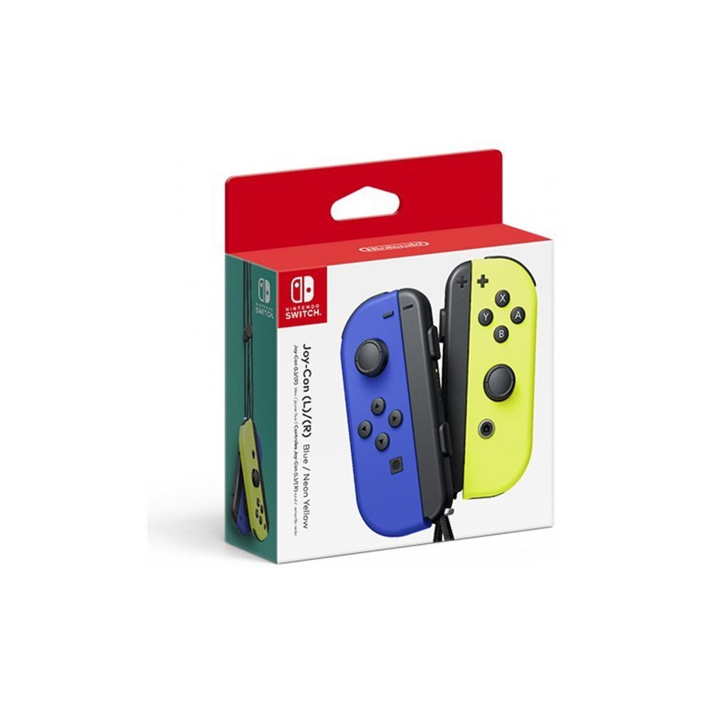 CONTROLLER JOY CON BLEU ET JAUNE SWITCH JAP NEW