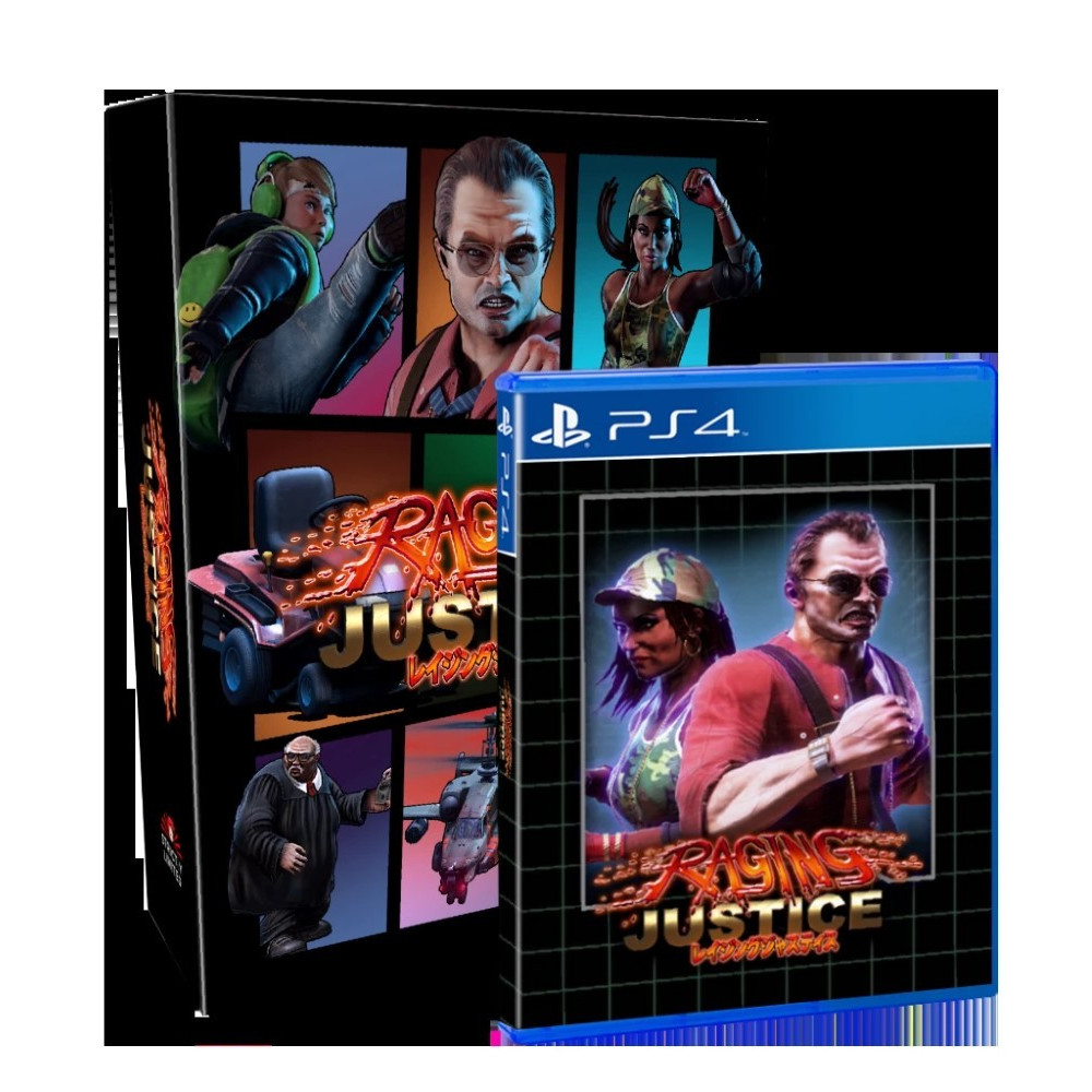 RAGING JUSTICE COLLECTOR PS4 EURO NEW