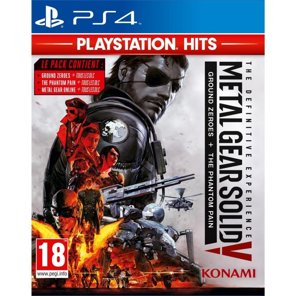 METAL GEAR SOLID V THE DEFINITIVE EXPERIENCE PLAYSTATION HITS PS4 UK NEW