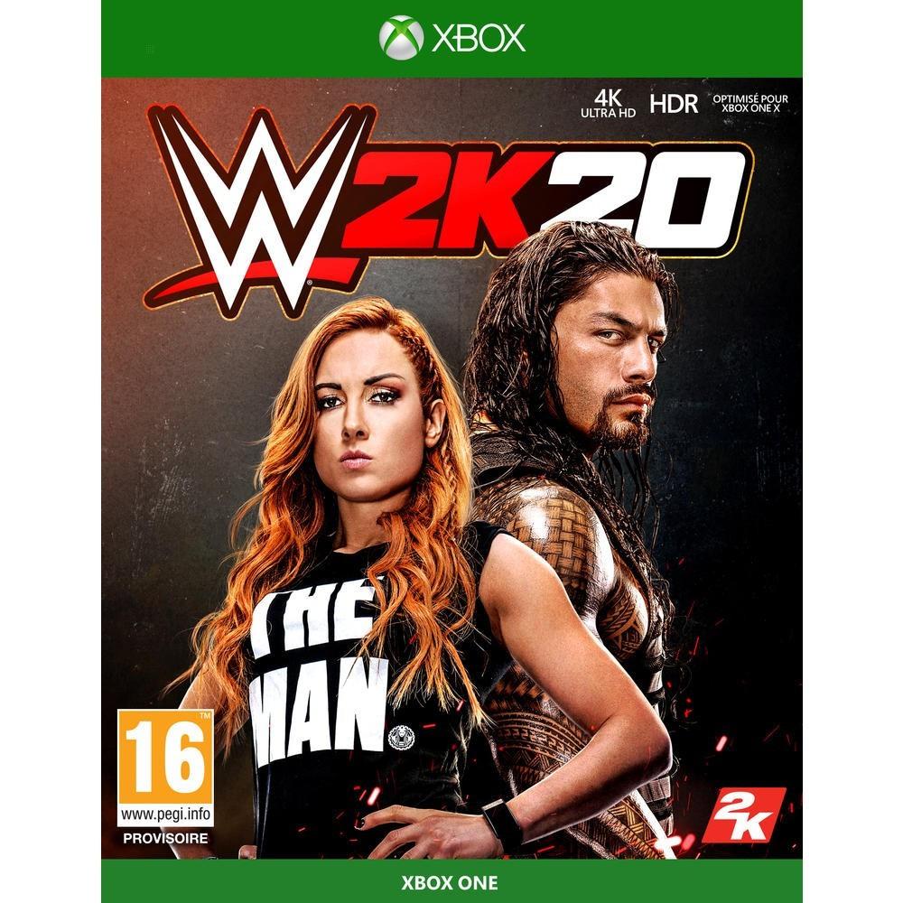 WWE 2K20 XBOX ONE FR NEW