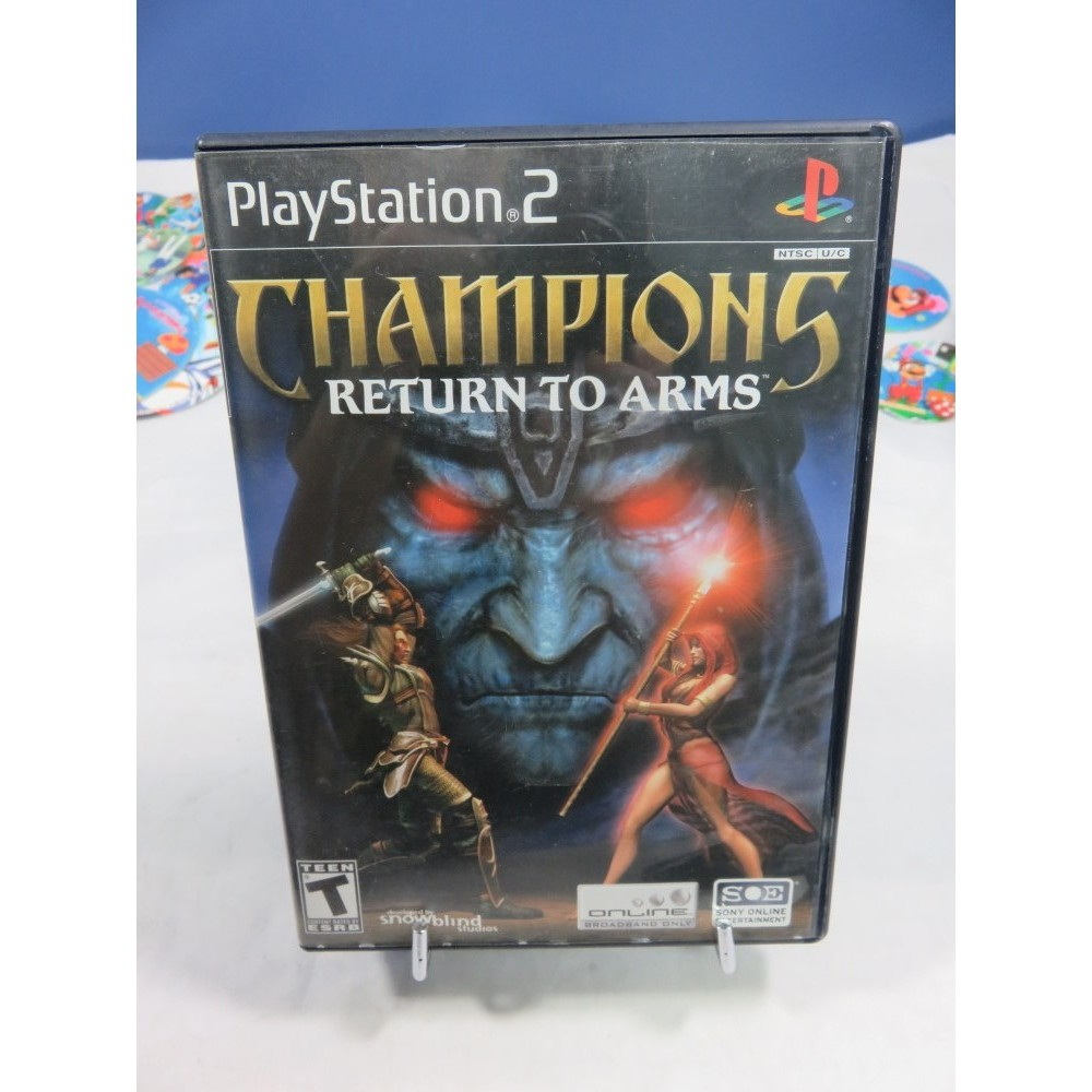 CHAMPIONS RETURN TO ARMS PS2 NTSC-USA OCCASION