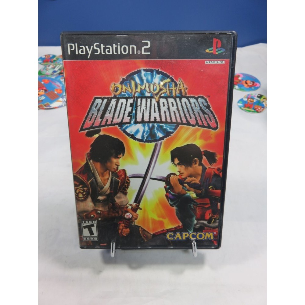 ONIMUSHA BLADE WARRIORS PS2 NTSC-USA OCCASION