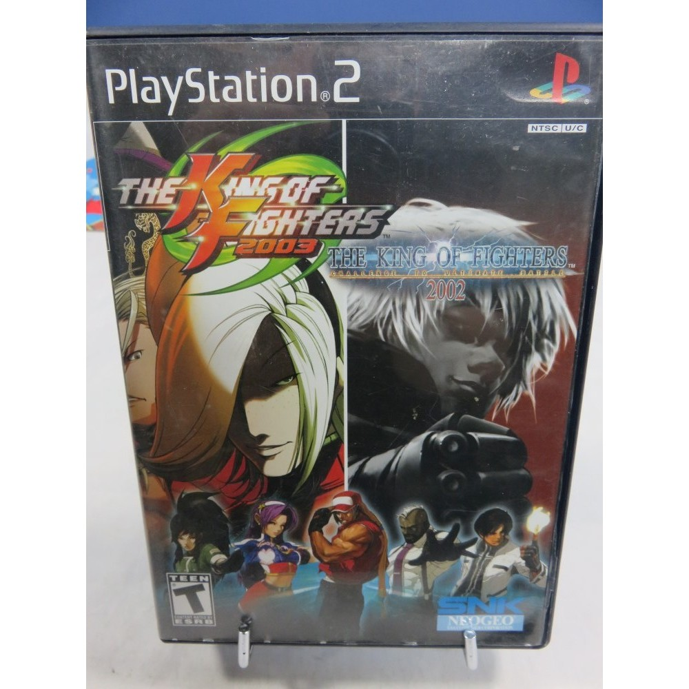 THE KING OF FIGHTERS 2002 & 2003 PS2 NTSC-USA OCCASION