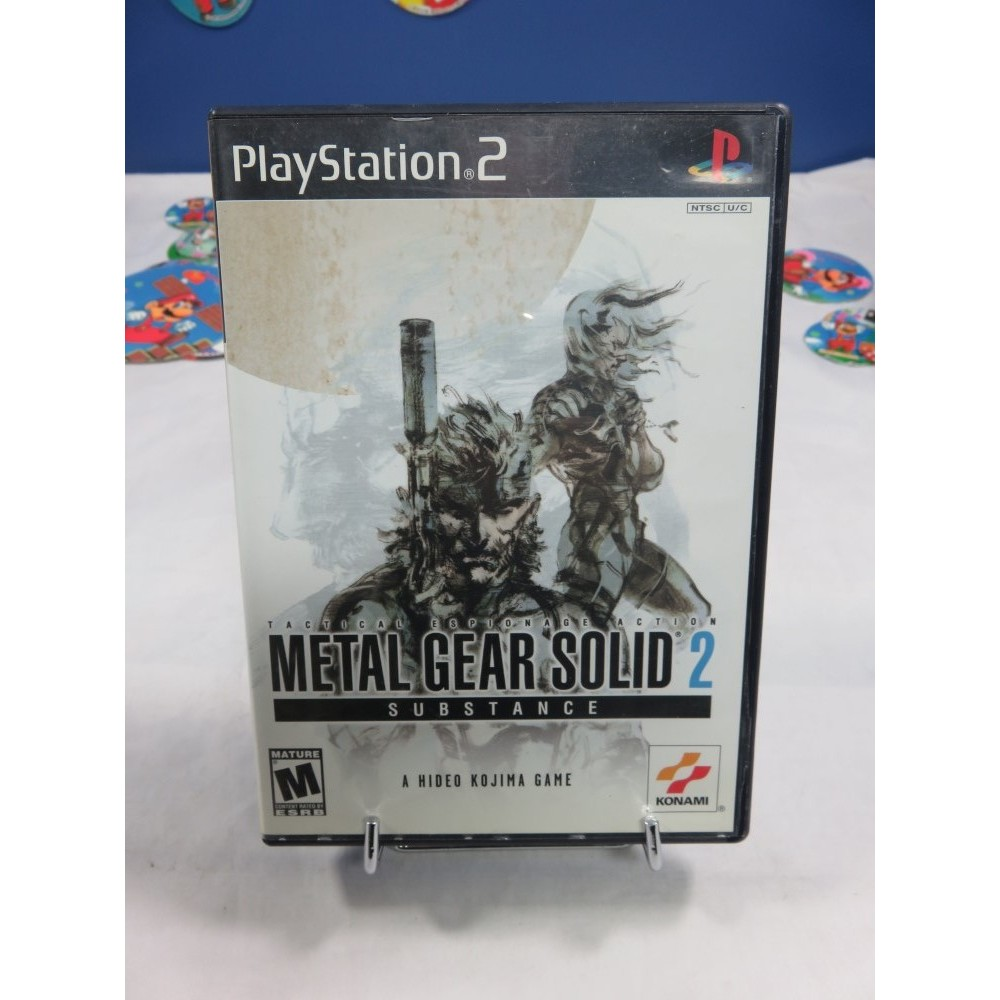 METAL GEAR SOLID 2 SUBSTANCE PS2 NTSC-USA OCCASION