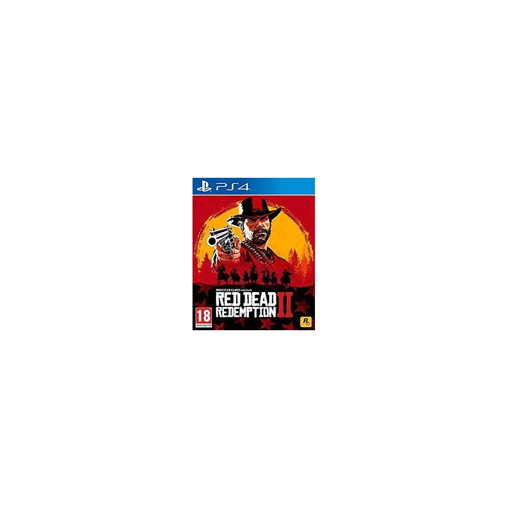 RED DEAD REDEMPTION 2 PS4 FR OCCASION