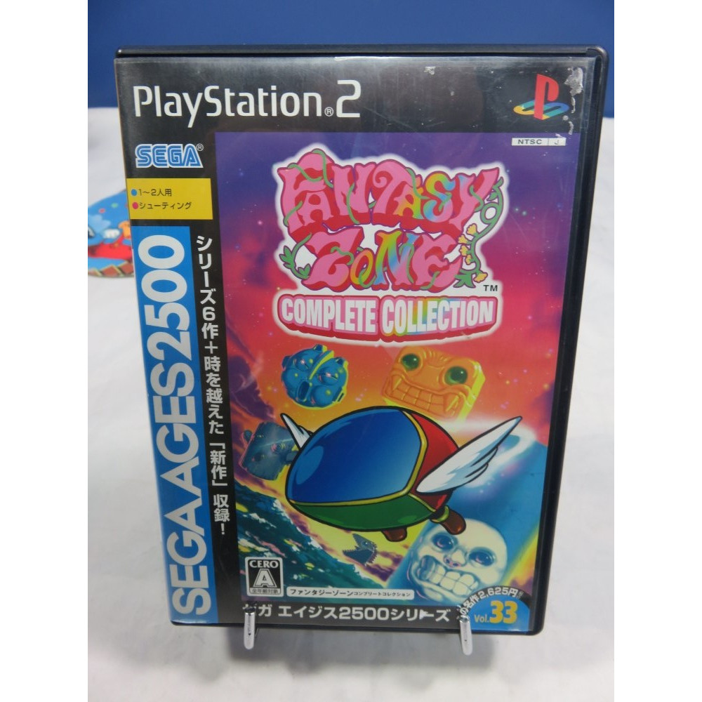 FANTASY ZONE : COMPLETE COLLECTION (SEGA AGES 2500) PS2 NTSC-JPN OCCASION