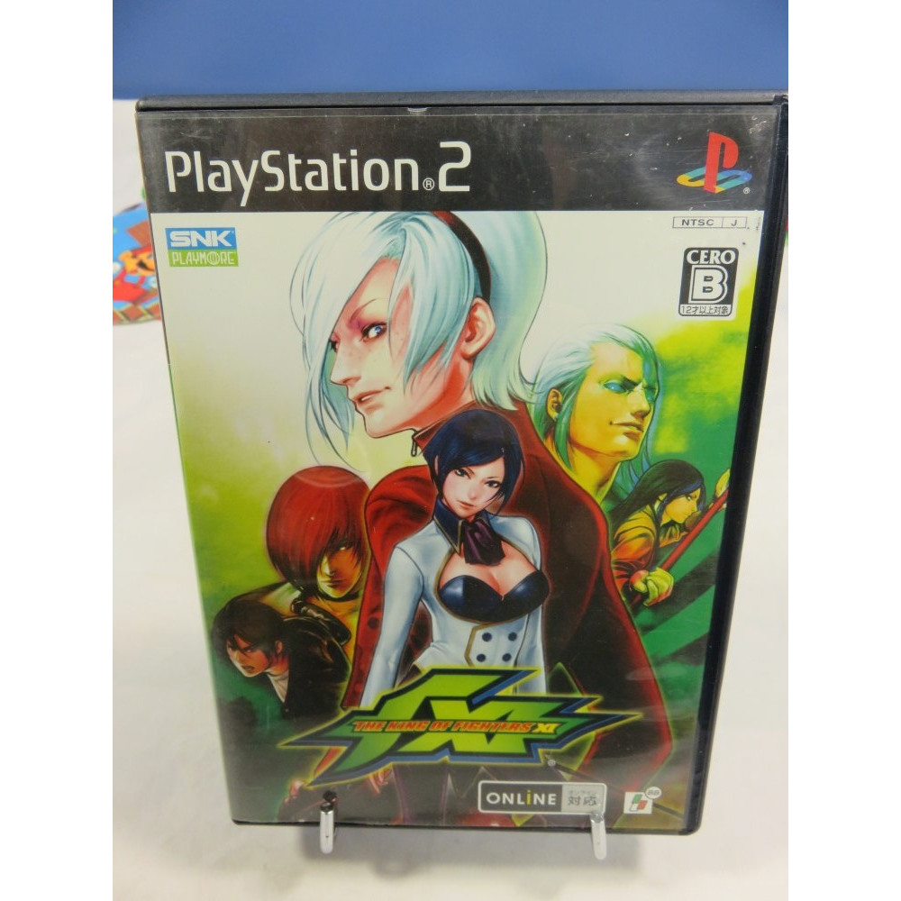 THE KING OF FIGHTERS XI PS2 NTSC-JPN OCCASION