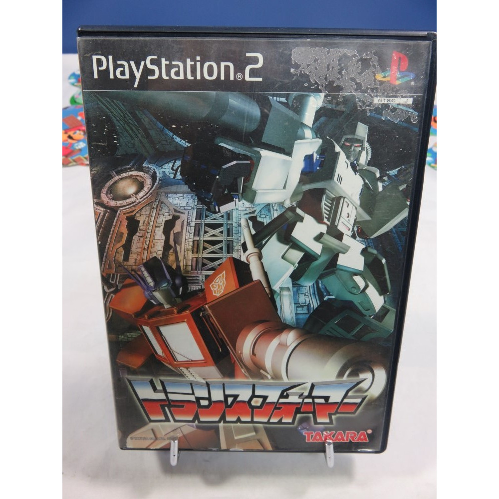 TRANSFORMERS PS2 NTSC-JPN OCCASION