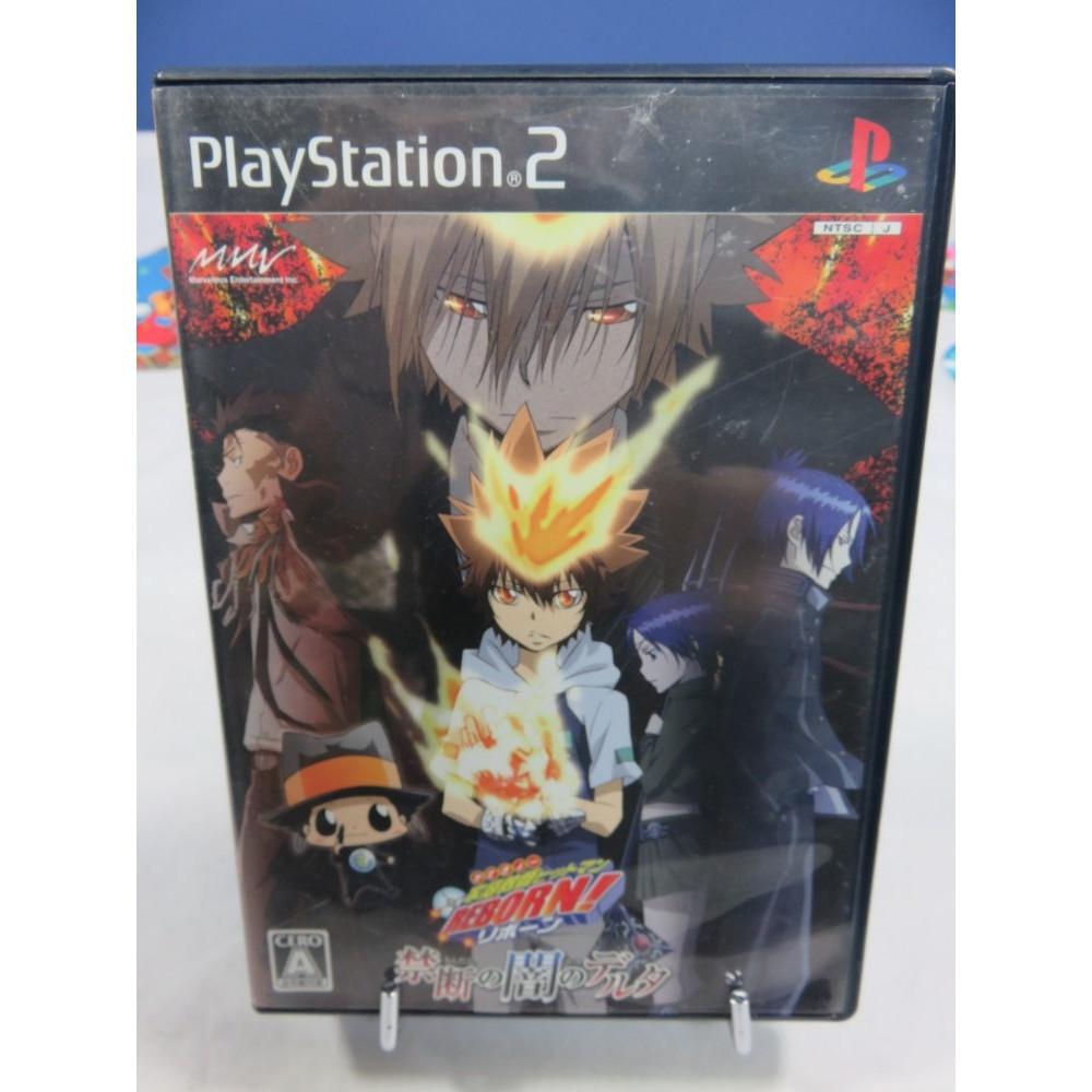 KATEKYOO HITMAN REBORN! KINDAN NO YAMI NO DELTA PS2 NTSC-JPN OCCASION