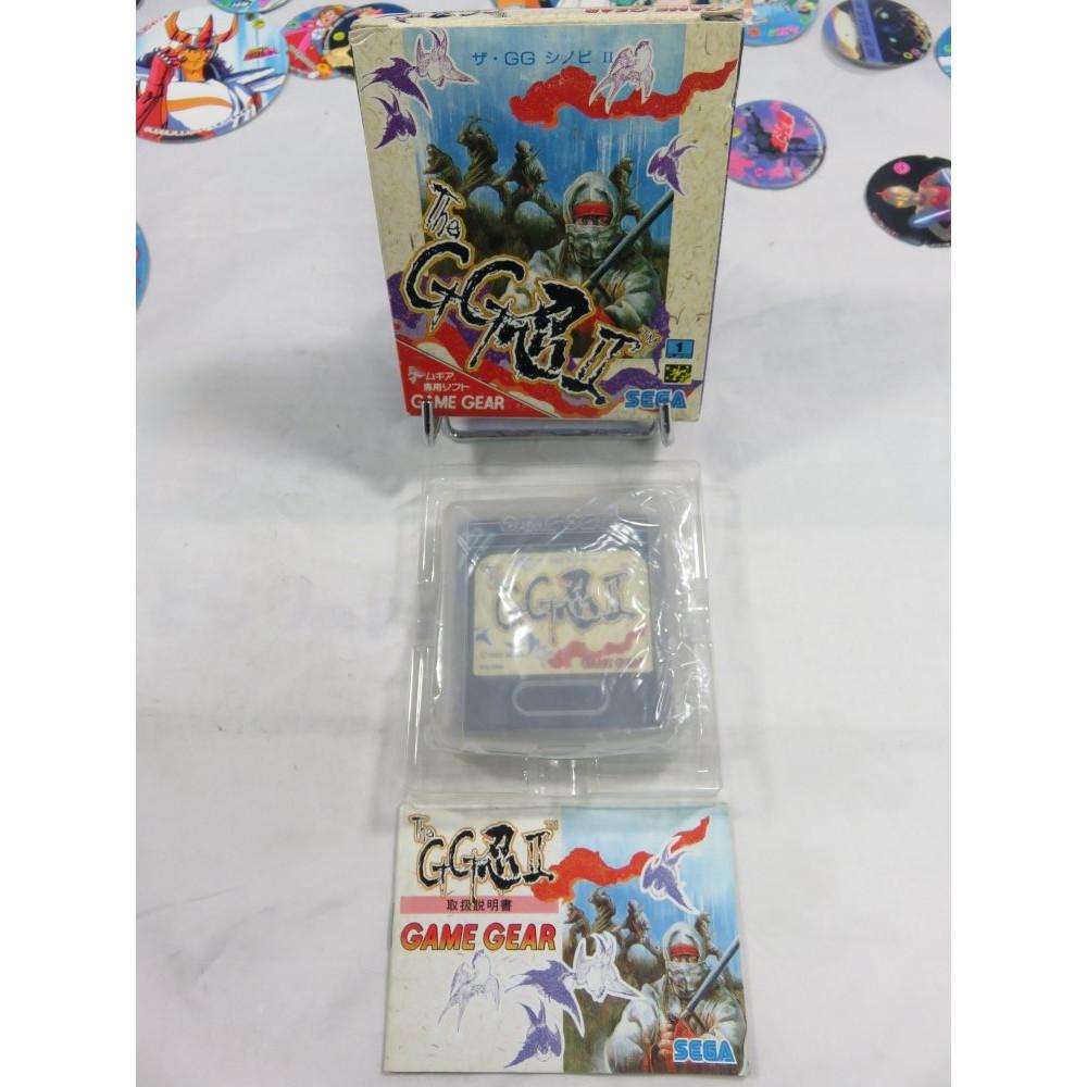 THE GG SHINOBI II GAMEGEAR JPN OCCASION