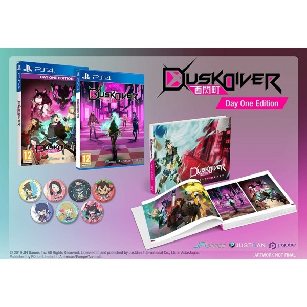 DUSK DIVER DAY ONE EDITION PS4 EURO FR NEW