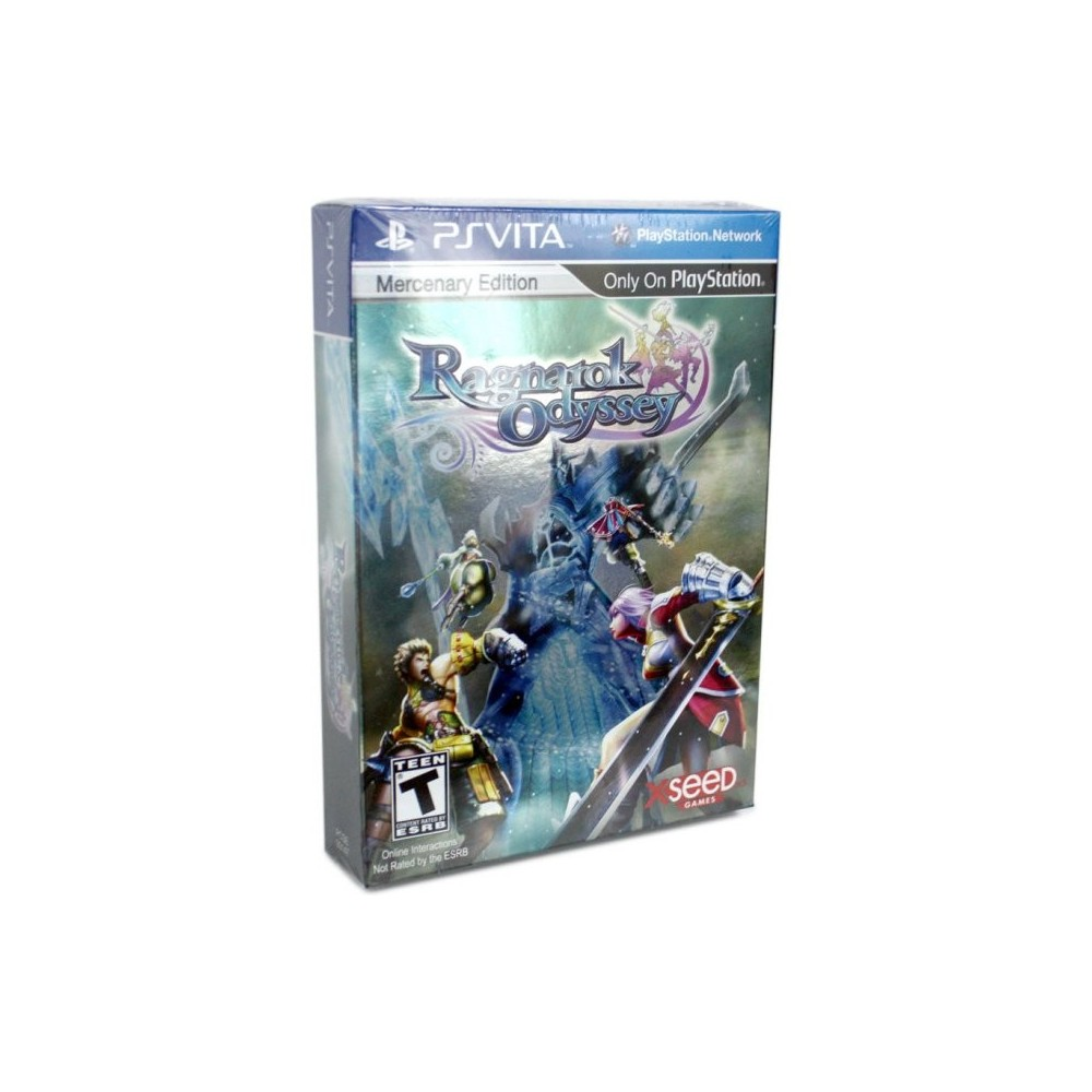 RAGNAROK ODYSSEY LIMITED MERCENARY EDITION PSVITA USA OCCASION