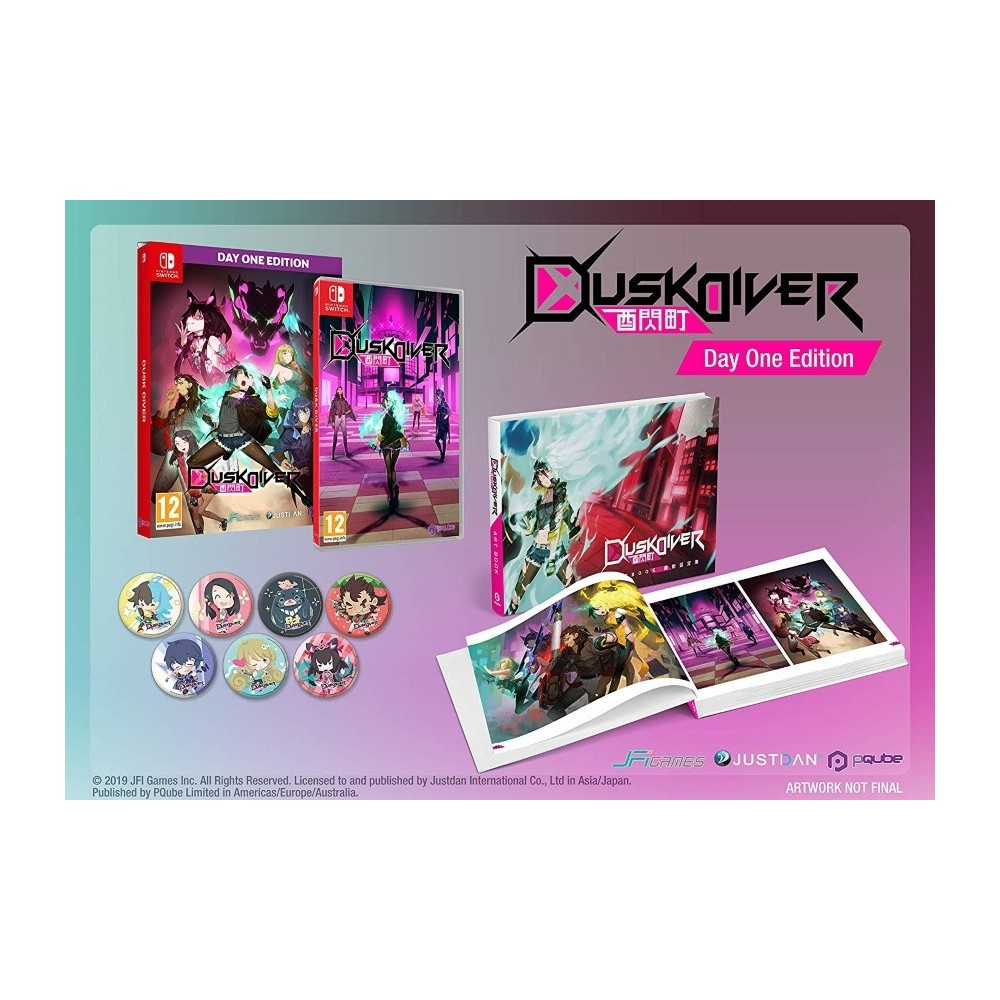 DUSK DIVER DAY ONE EDITION SWITCH EURO FR NEW