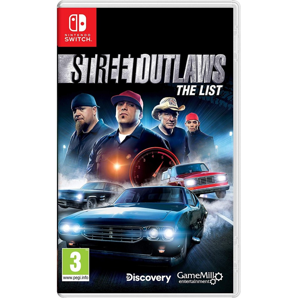 STREET OUTLAWS THE LIST SWITCH UK NEW