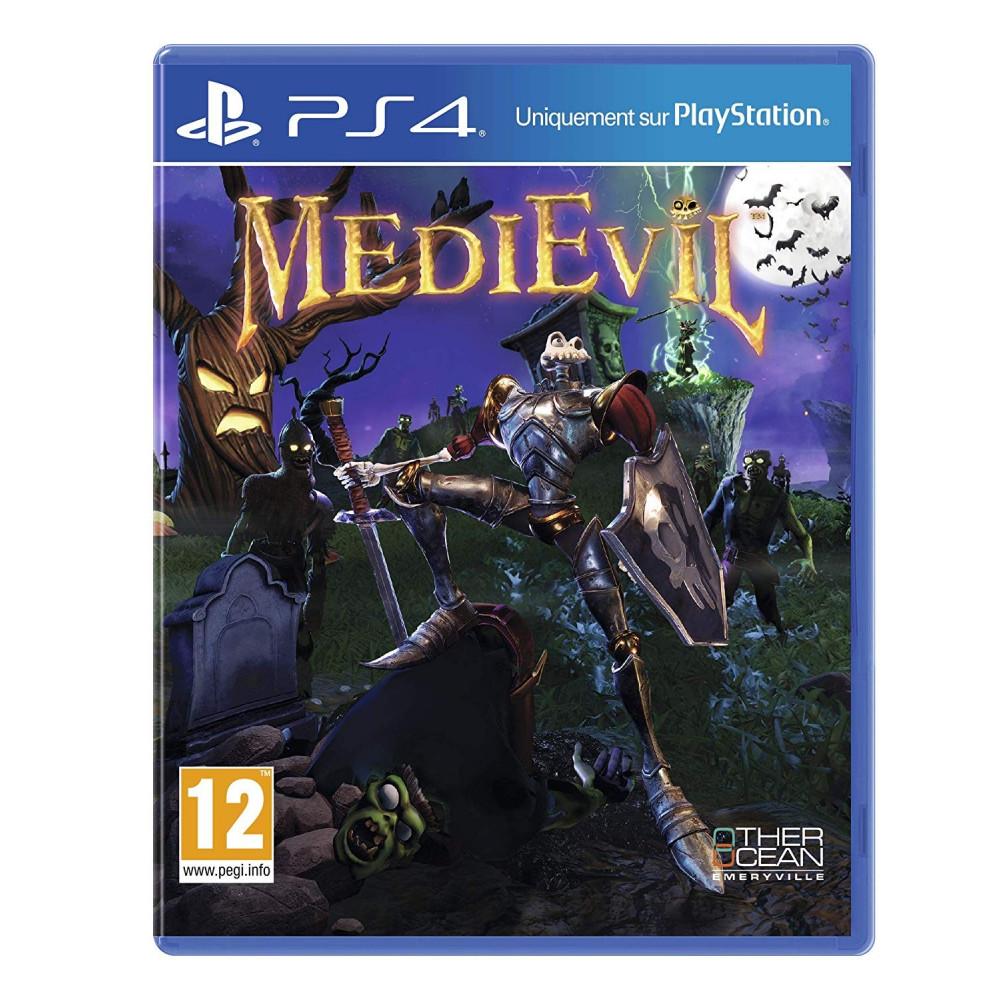 MEDIEVIL PS4 EURO FR NEW