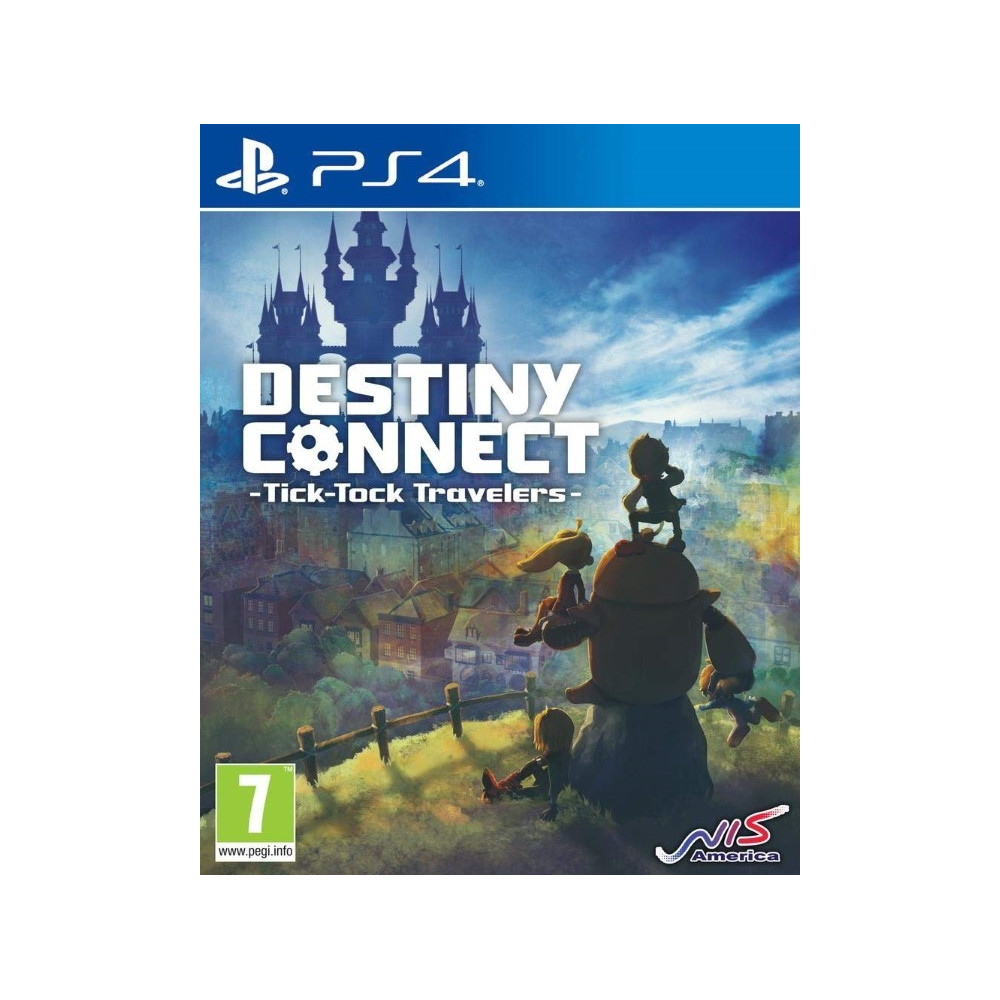 DESTINY CONNECT TYICK TOCK TRAVELERS TIME CAPSULE EDITION PS4 FR NEW