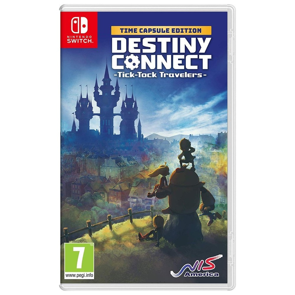 DESTINY CONNECT TYICK TOCK TRAVELERS TIME CAPSULE EDITION SWITCH FR NEW
