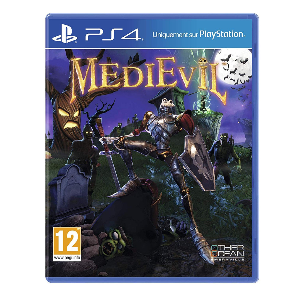 MEDIEVIL PS4 FR NEW