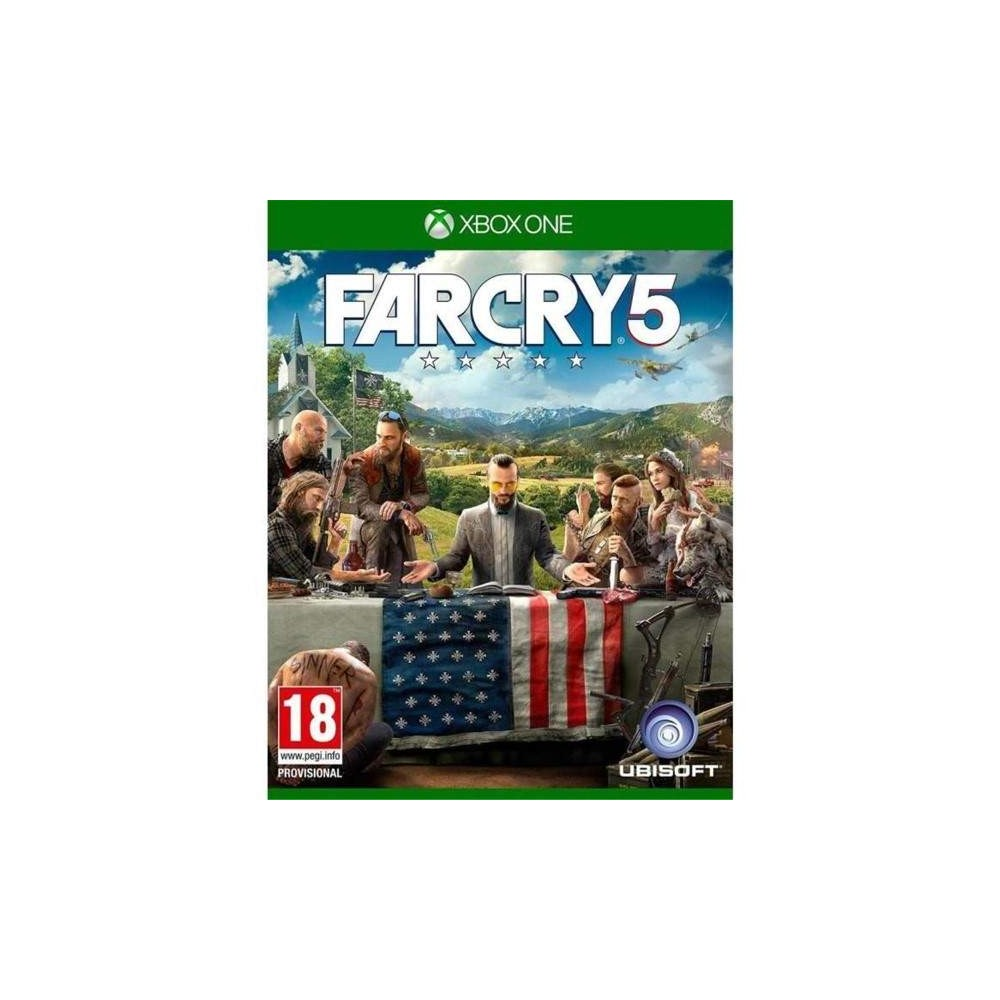 FARCRY 5 XBOX ONE FR OCCASION