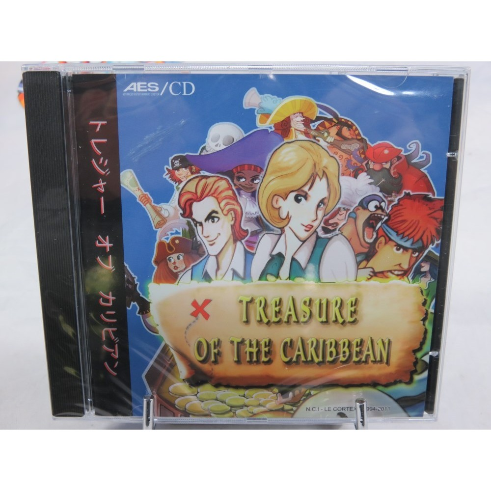 TREASURE OF THE CARIBBEAN NEOGEO CD NEW
