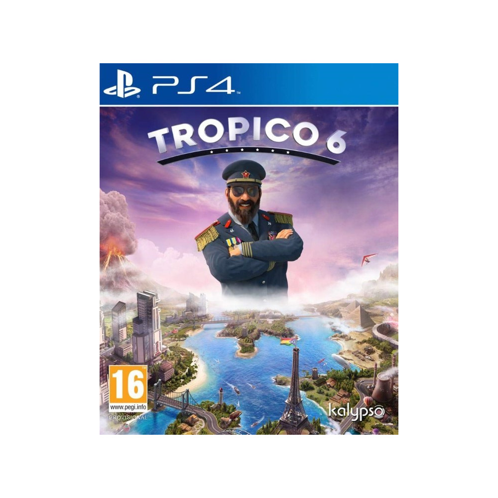 TROPICO 6 EL PREZ EDITION PS4 FR OCCASION