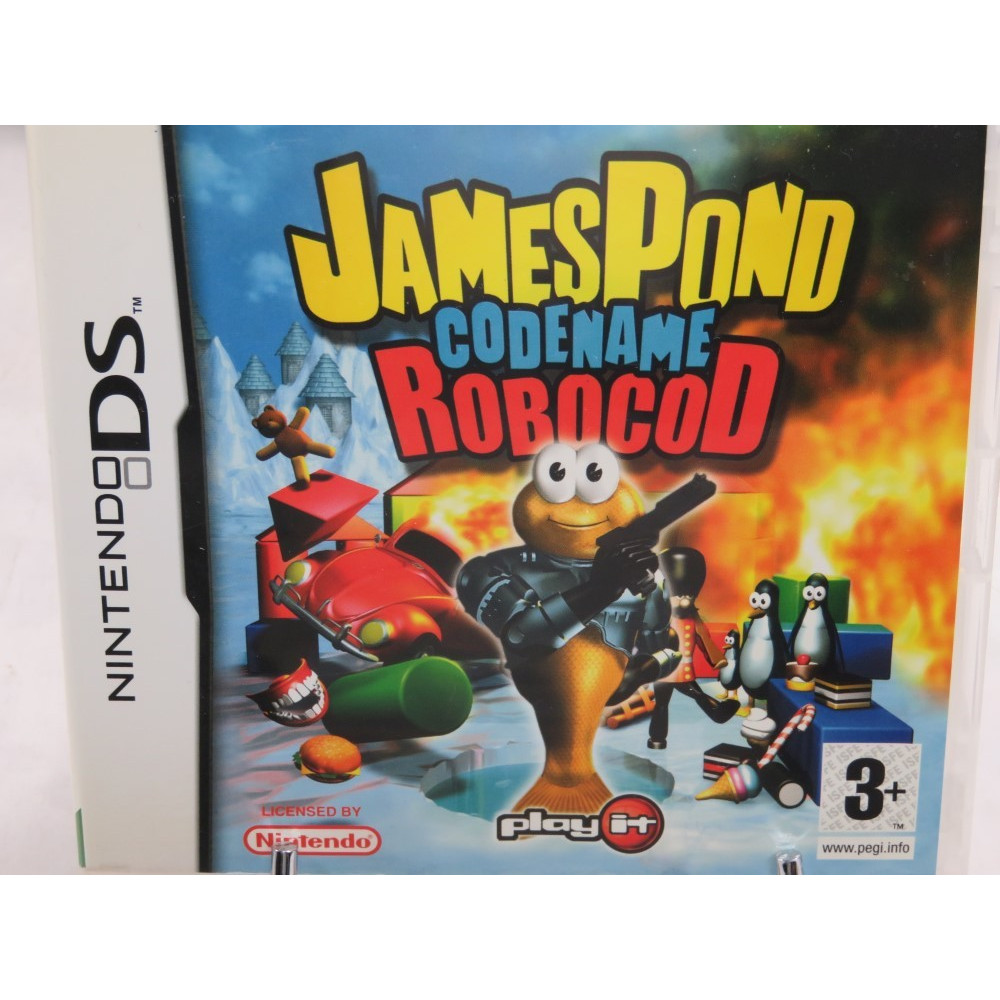JAMES POND CODENAME ROBOCOD NDS UK OCCASION