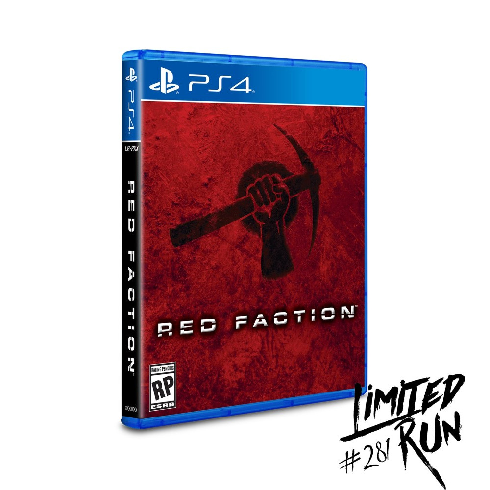RED FACTION PS4 US NEW