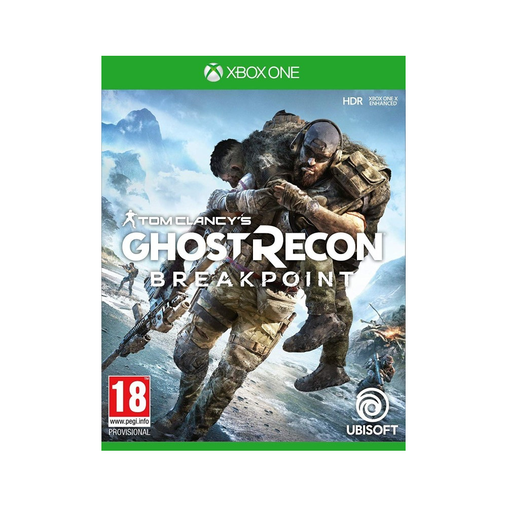 GHOST RECON BREAKPOINT XBOX ONE FR OCCASION