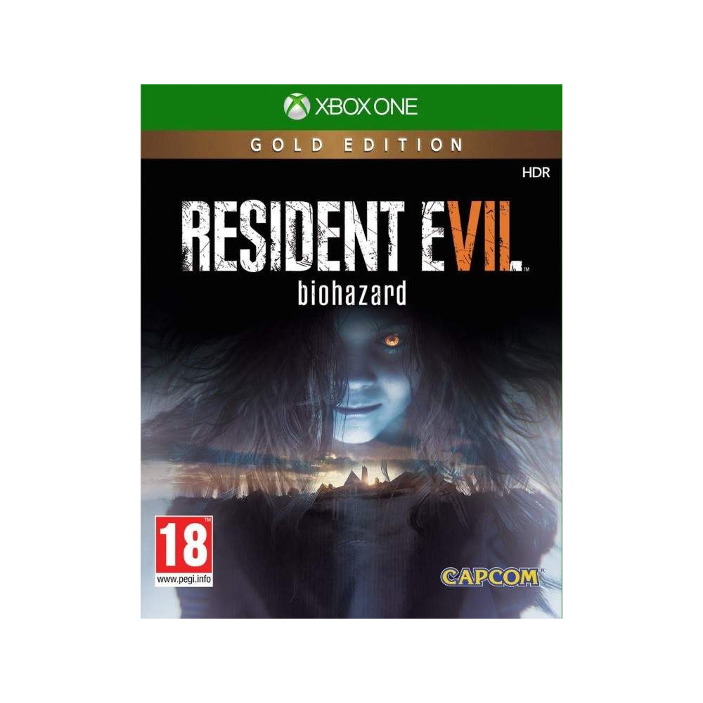 RESIDENT EVIL 7 GOLD EDITION XBOX ONE UK OCCASION
