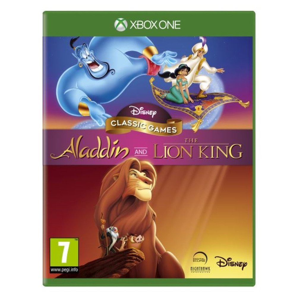 DISNEY CLASSIC GAMES ALADDIN AND THE LION KING XBOX ONE UK NEW