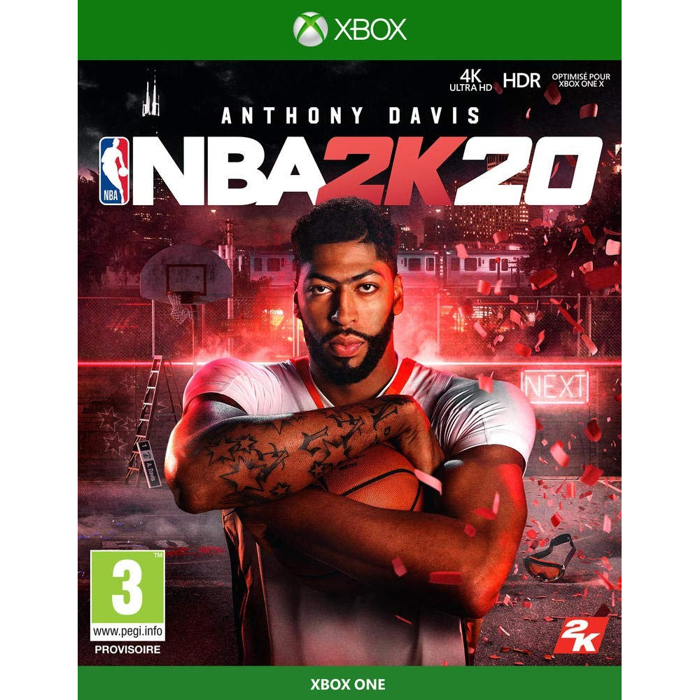 NBA 2K20 XBOX ONE FR OCCASION