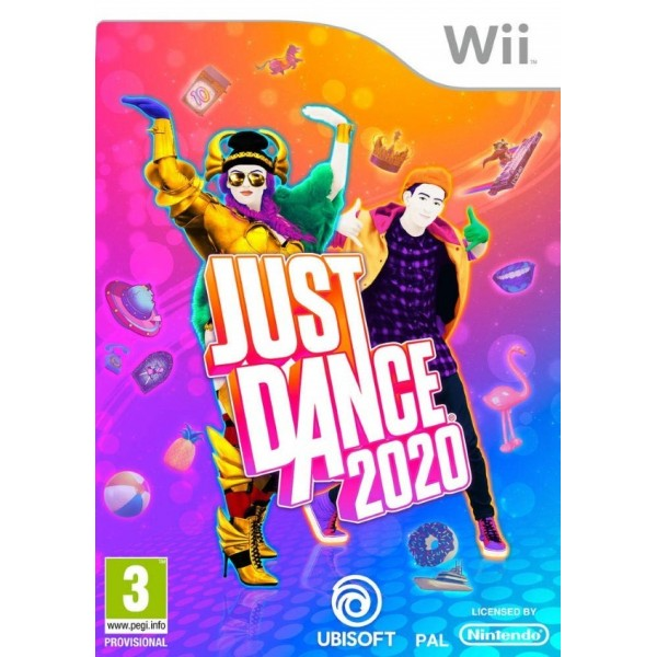 JUST DANCE 2020 WII EURO FR NEW
