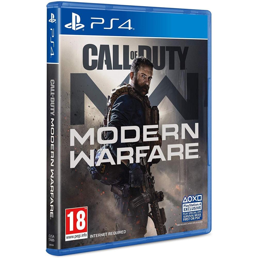 CALL OF DUTY MODERN WARFARE PS4 UK OCCASION