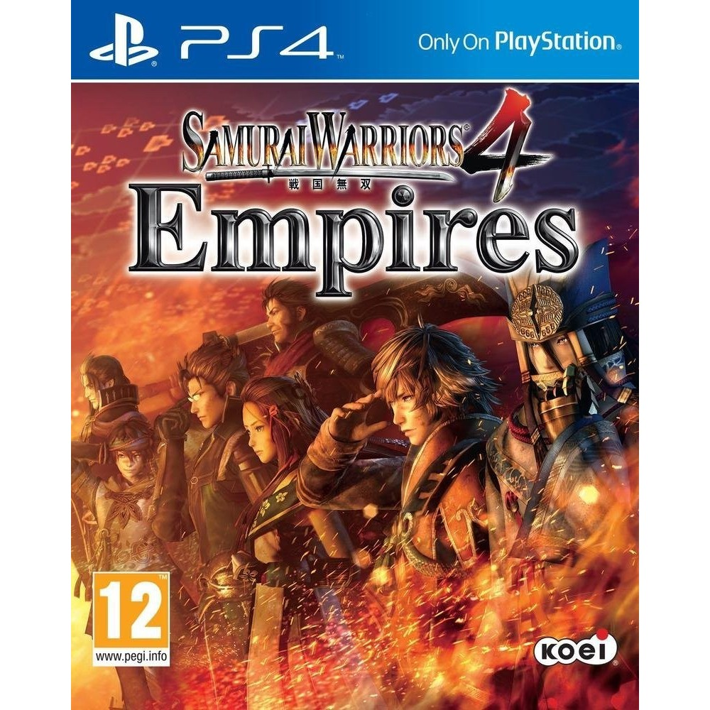 SAMURAI WARRIORS 4 EMPIRES PS4 VF