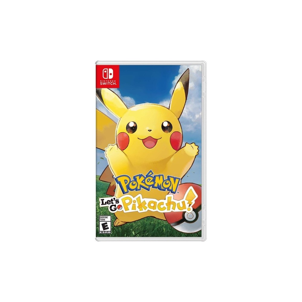 POKEMON LET S GO PIKACHU SWITCH US OCCASION