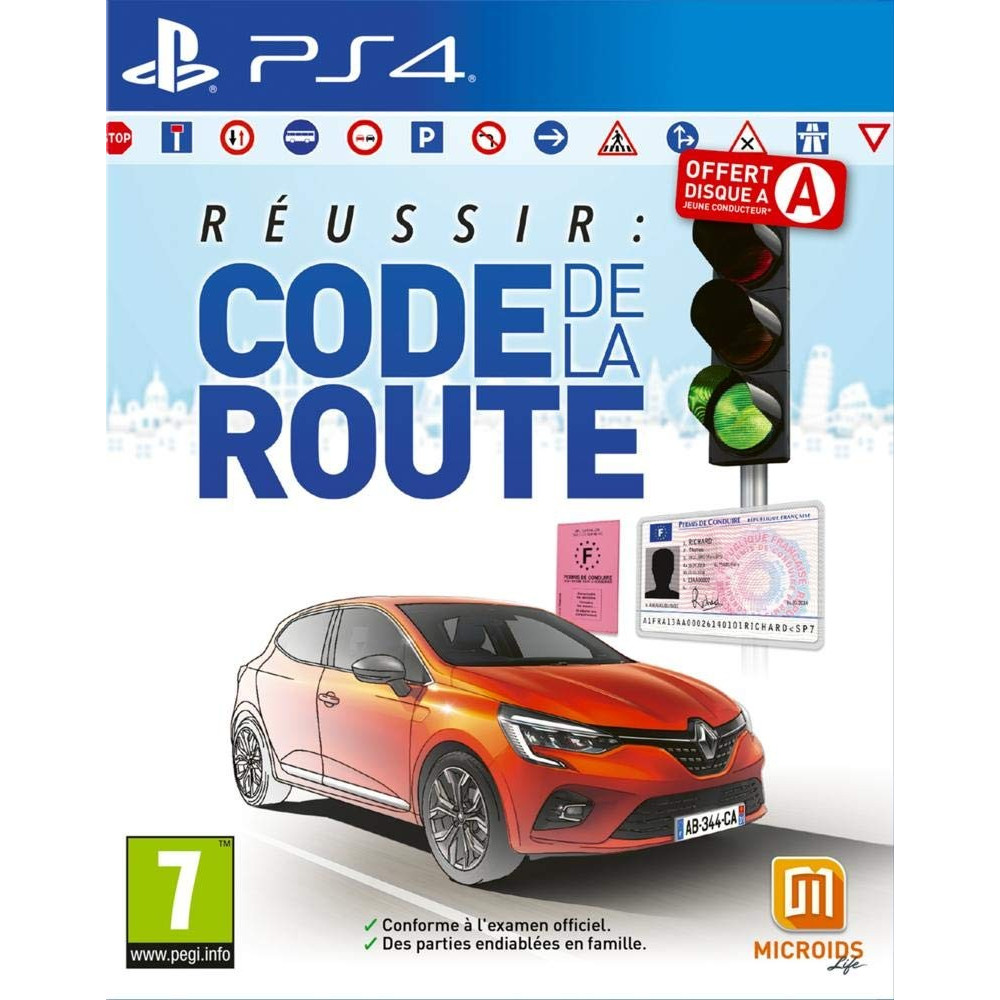 REUSSIR: CODE DE LA ROUTE PS4 FR NEW